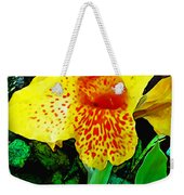 Maui Yellow Floral Weekender Tote Bag