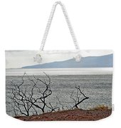 Maui's View Of Lanai Weekender Tote Bag