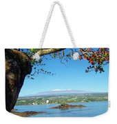 Mauna Kea Snow Weekender Tote Bag