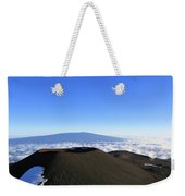 Mauna Loa In The Distance Weekender Tote Bag