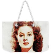 Maureen O'hara Weekender Tote Bag