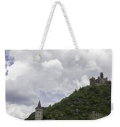 Maus Castle And The Village Of Wellmich Weekender Tote Bag