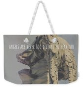 Mausoleum Protector Quote Weekender Tote Bag