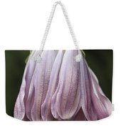 Mauve Dangle Weekender Tote Bag