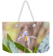 Mauve Trout Lily Weekender Tote Bag