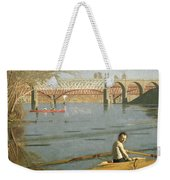 Max Schmitt In A Single Scull Weekender Tote Bag