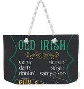 Maxey's Old Irish Pub Weekender Tote Bag