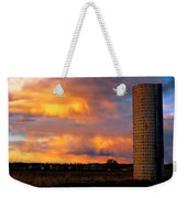 May Day Silo Sunset Weekender Tote Bag