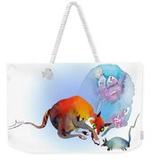 May I Touch You Weekender Tote Bag