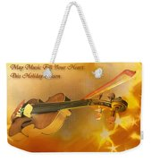 May Music Fill Your Heart Weekender Tote Bag