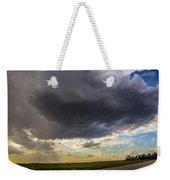 May Nebraska Storm Cells Weekender Tote Bag