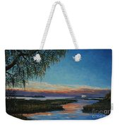 May River Sunset Weekender Tote Bag by Stanton Allaben