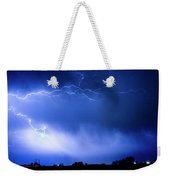 May Showers Two In Color - Lightning Thunderstorm 5-10-2011 Weekender Tote Bag