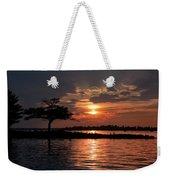 May Sunset At Detroit Point Weekender Tote Bag