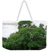 May The Forest Be With You Weekender Tote Bag