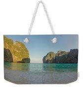 Maya Bay Sunrise Weekender Tote Bag