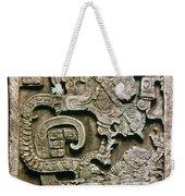 Mayan Glyph Weekender Tote Bag