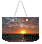 Mayan Riviera Sunrise Weekender Tote Bag