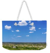 Mayan Temple And Landscape Weekender Tote Bag