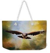 Maybe - Hawk Art Weekender Tote Bag