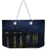 Maybe We Can Take Death To Go To A Star? Weekender Tote Bag