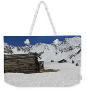 Mayflower Gulch Winter 3 Weekender Tote Bag
