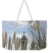 Mayflower Memorial Through The Pampas Grass Weekender Tote Bag
