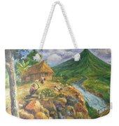 Mayon Scene #1 Weekender Tote Bag