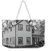 Mayors House Black And White Weekender Tote Bag
