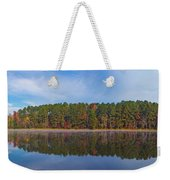 Mayor's Pond, Autumn, #3 Weekender Tote Bag