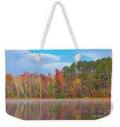 Mayor's Pond, Autumn, #4 Weekender Tote Bag