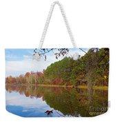 Mayor's Pond, Autumn, #7 Weekender Tote Bag