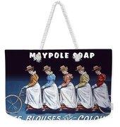 Maypole Soap Retro Vintage Ad 1890's Weekender Tote Bag
