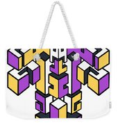 Maze Build 1 Weekender Tote Bag