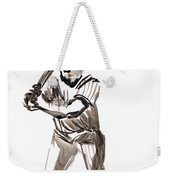 Mbl Batter Up Weekender Tote Bag