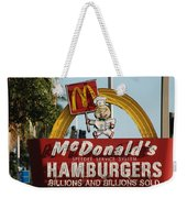 Mc Donalds Weekender Tote Bag