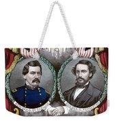 Mcclellan And Pendleton Campaign Poster Weekender Tote Bag