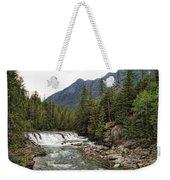 Mcdonald Falls - Glacier Weekender Tote Bag