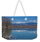 Mcintosh Lake Reflections Weekender Tote Bag