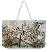 Mckinley Cartoon, 1896 Weekender Tote Bag