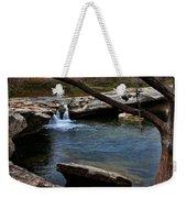 Mckinney Falls State Park-upper Falls 6 Weekender Tote Bag