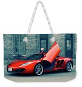 Mclaren Mp4-12c Weekender Tote Bag