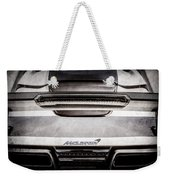 Mclaren Mp4 12c Rear View -0668ac Weekender Tote Bag