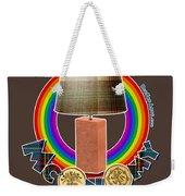 Mconomy Rainbow Brick Lamp Weekender Tote Bag