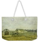 Mcpherson Barn And Cannon Gettysburg  Weekender Tote Bag