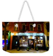 Mcsorleys At Night Weekender Tote Bag