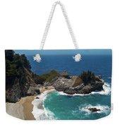 Mcway Falls In Big Sur Weekender Tote Bag