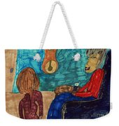 Me And My Granddaughter Weekender Tote Bag