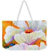Meadow Angels - White Poppies Weekender Tote Bag