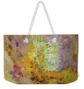 Meadow Flowers Abstract Weekender Tote Bag